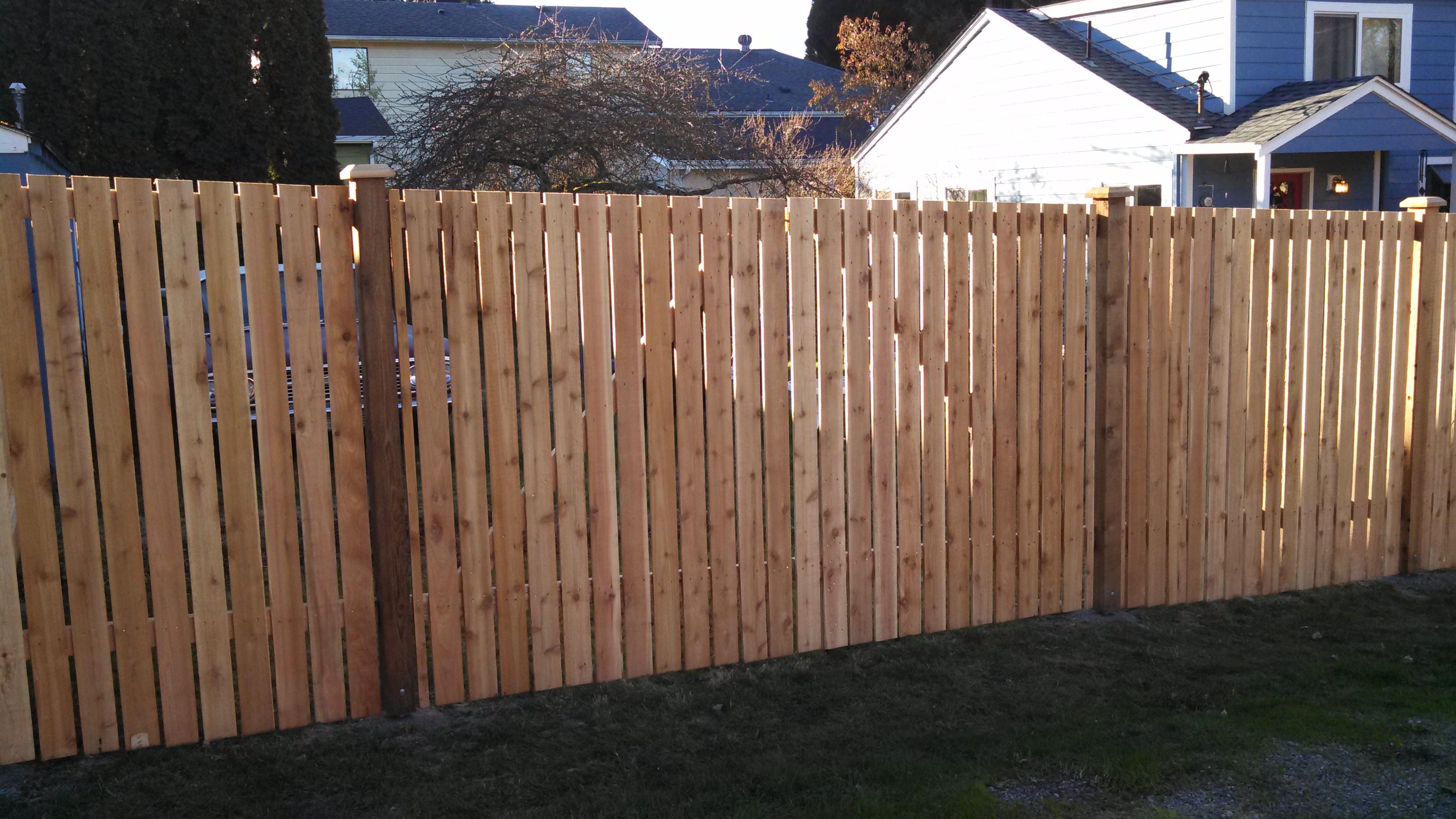 Cedar Wood Fence Repairs For Seattle Wa