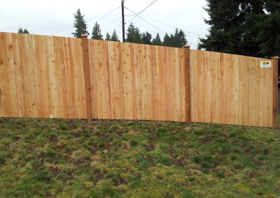 Estate fence to Grade