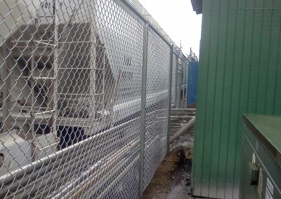 Galvanized Chain Link Slide Gate