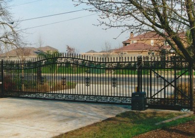 OI Custom Arched Gate