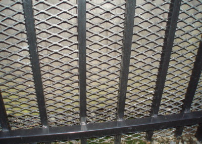 Ornamental Iron with Expanded Metal