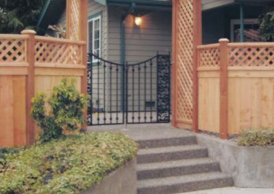 CWF Design Arbor OI Gate & Fence
