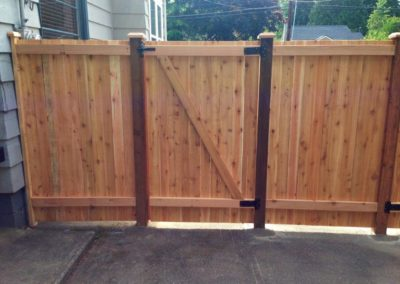 Cedar Wood Fence Repair In Seattle Wa Free Quote