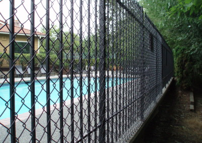 Ornamental Iron with Chain Link