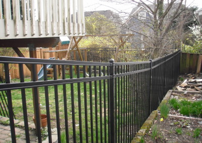 Tango Rail Iron Fence in Monroe WA