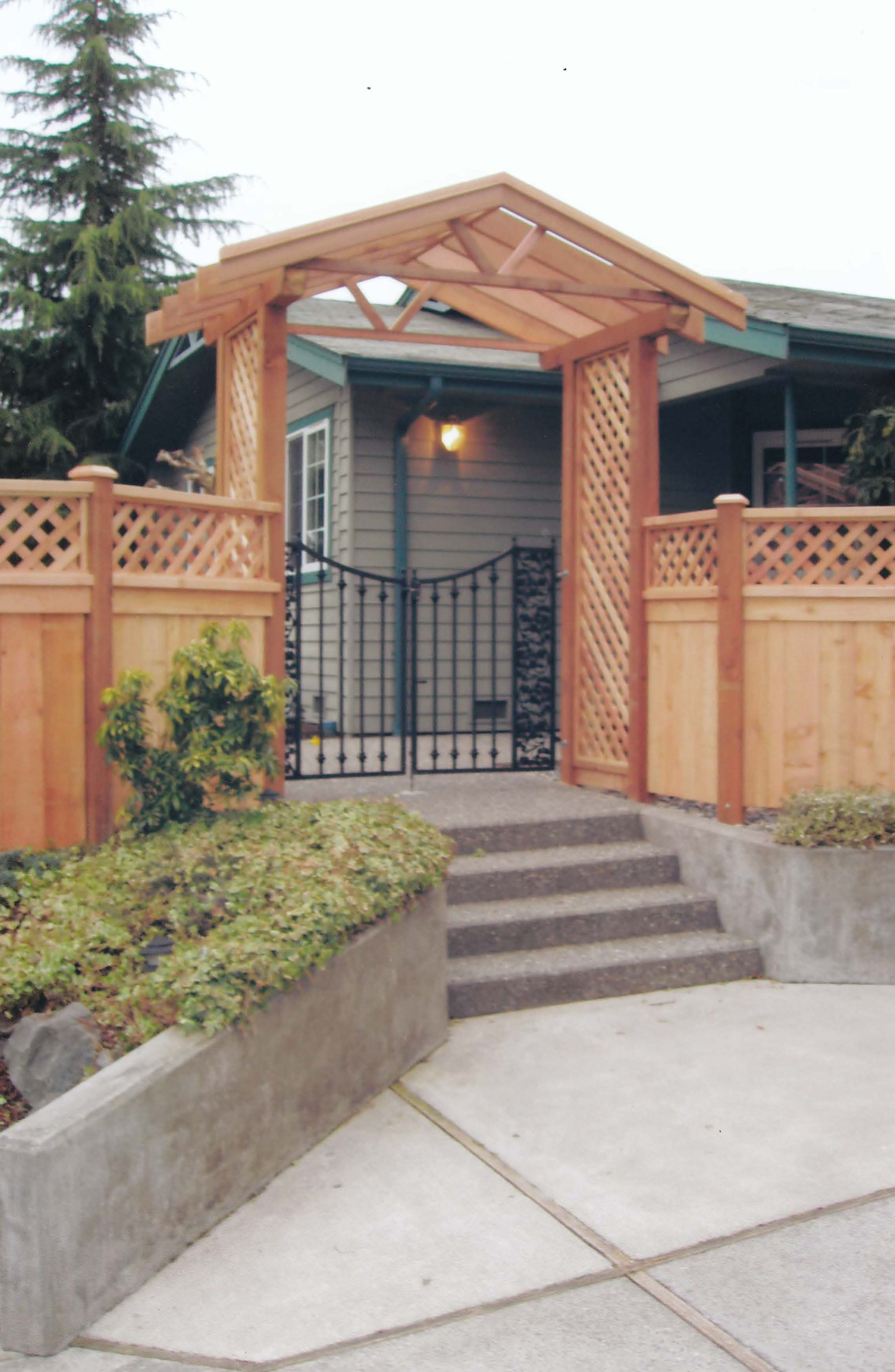 Design For Gate And Fence Gate repair services in seattle wa cwf design arbor oi gate fence workwithnaturefo